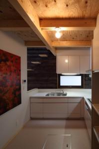新琴似K邸―庇のある家―の部屋 キッチン