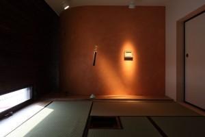 新琴似K邸―庇のある家― (茶室1)