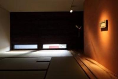 新琴似K邸―庇のある家― (茶室2)