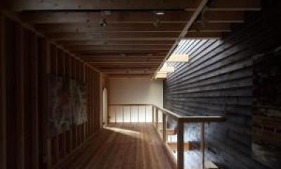 廊下|新琴似K邸―庇のある家―