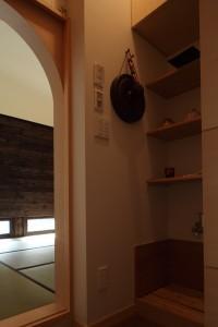 新琴似K邸―庇のある家―の部屋 水屋
