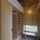 神澤 宣次の住宅事例「玉村T邸・垂木舟底天井の快適平屋」