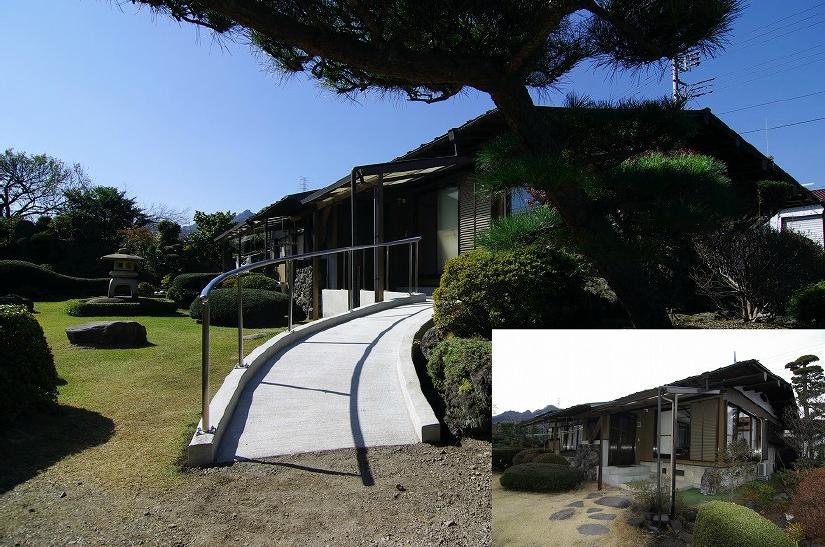 高崎S邸・高気密高断熱化・暖かく生まれ変わった家の部屋 外観