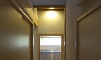 廊下2|高崎S邸・高気密高断熱化・暖かく生まれ変わった家