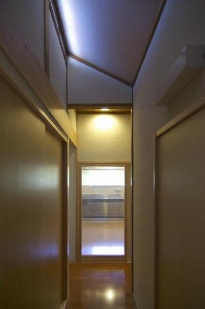 高崎S邸・高気密高断熱化・暖かく生まれ変わった家 (廊下2)