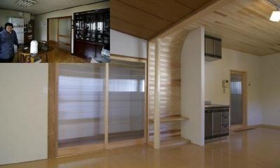 高崎S邸・高気密高断熱化・暖かく生まれ変わった家