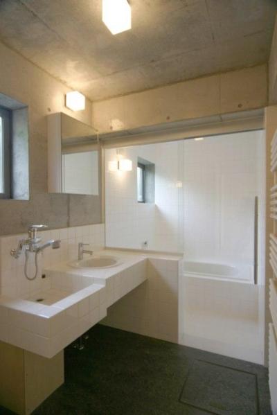浴室・洗面 (泉の家)