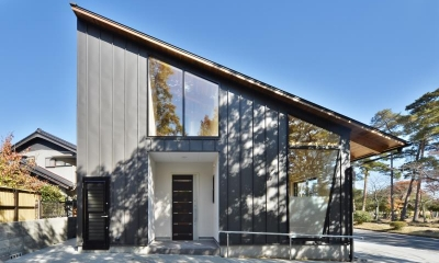 外観|大羽根園の家