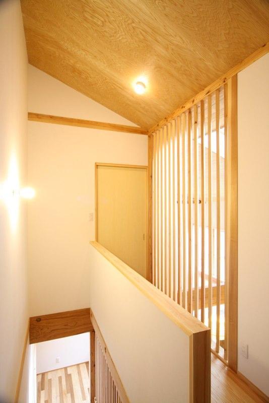 東通仲町の家の写真 2階廊下