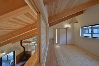 2階書斎 (大羽根園の家)