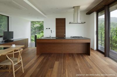 キッチン (032熱海Oさんの家)