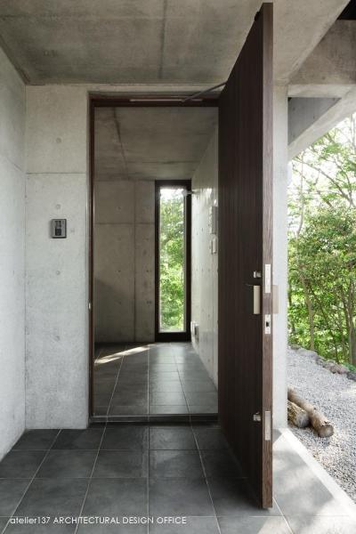 玄関 (032熱海Oさんの家)