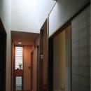 廊下のトップライト(撮影:上田明)
