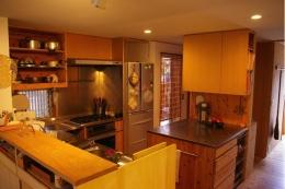 寒川の家 (キッチン)