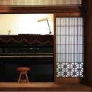 広縁に置かれたピアノ(撮影:上田明)