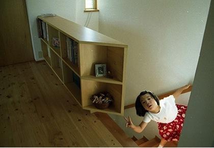 竜ヶ崎の家の部屋 階段ホール1