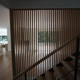 大沼 森の家 (階段(撮影:Adachi Osamu))
