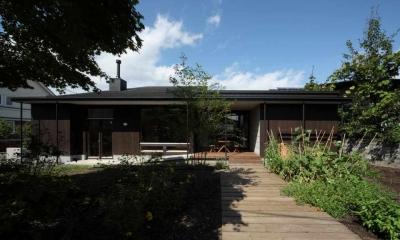 外観2(撮影:Adachi Osamu)|真駒内土間のある家