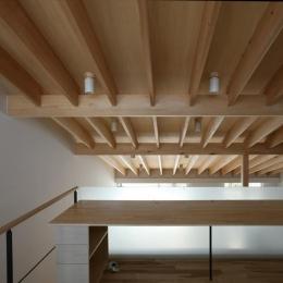 真駒内土間のある家 (2階ワークスペース-2(撮影:Adachi Osamu))