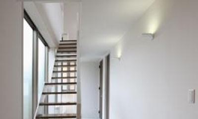 階段|鶴岡N邸