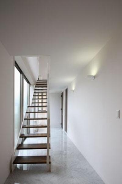 階段 (鶴岡N邸)
