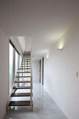 鶴岡N邸の写真 階段