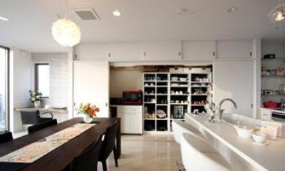 鶴岡N邸 (キッチン2)