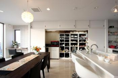 キッチン2 (鶴岡N邸)