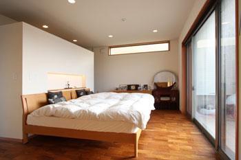 鶴岡N邸の写真 1階ベッドルーム