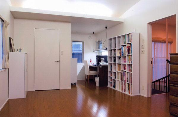 山形M邸の部屋 ベッドルーム・書斎