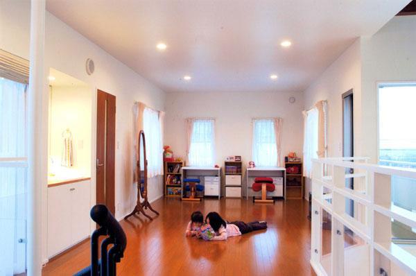 山形M邸の部屋 子供部屋