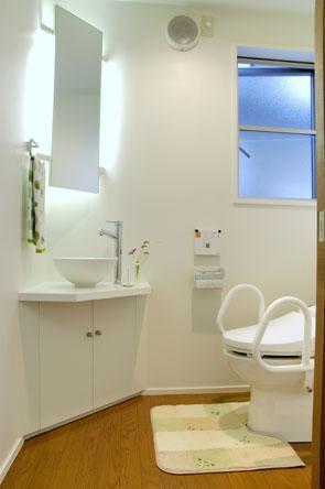山形M邸の部屋 トイレ