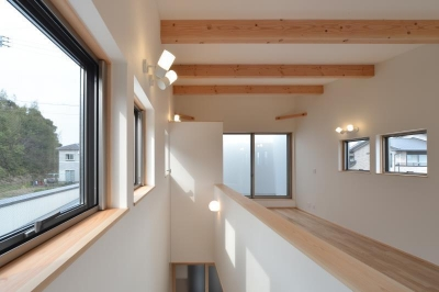 川合の家 (寝室)