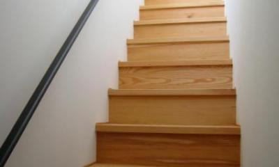 Apartment-Fu・路地状敷地の長屋建て集合住宅 (階段2)