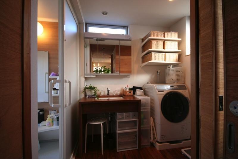 本町通りのいえの部屋 洗面化粧室