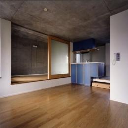 中野の集合住宅 ルミネリックス (居室)