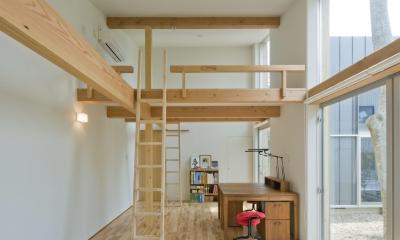木立の家 (子供室)