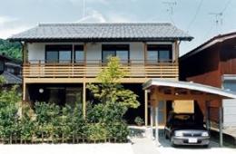 八幡の家 (外観2)