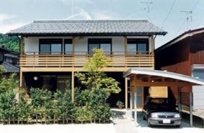 外観2 (八幡の家)
