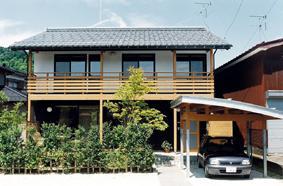 八幡の家の写真 外観2