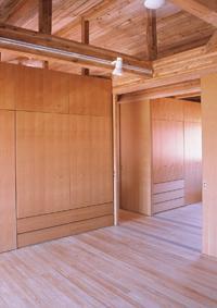 八幡の家の写真 2階ベッドルーム