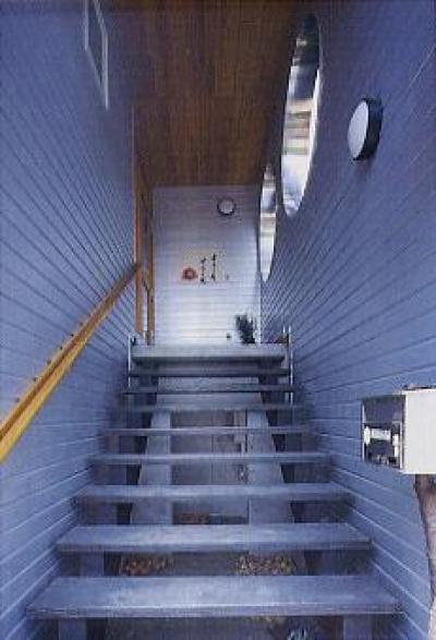 玄関アプローチ (長倉の家)