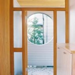 長倉の家 (玄関)