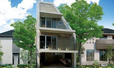 中根S邸新築工事・トップライトのある家