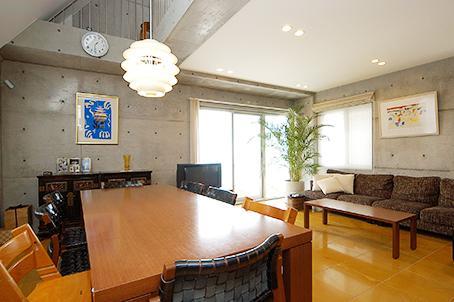中根S邸新築工事・トップライトのある家の部屋 リビングダイニング2
