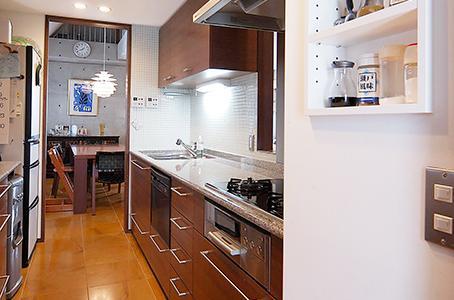 中根S邸新築工事・トップライトのある家の部屋 キッチン