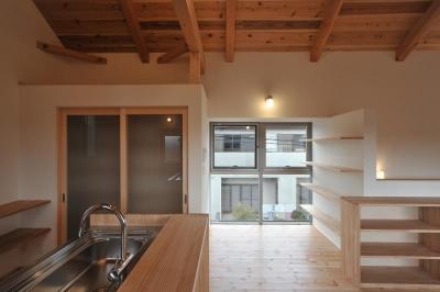 上津部田の家1 (キッチン)