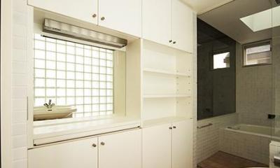 浴室・洗面|世田谷U邸新築工事・コンクリート打ち放しの家