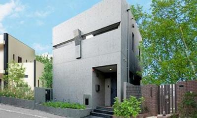 大田区Y邸新築工事・コートハウス(中庭)のある家