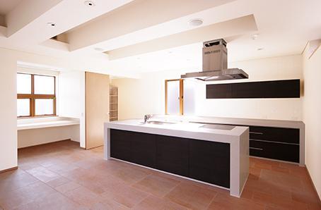 江東区O邸新築工事の写真 キッチン